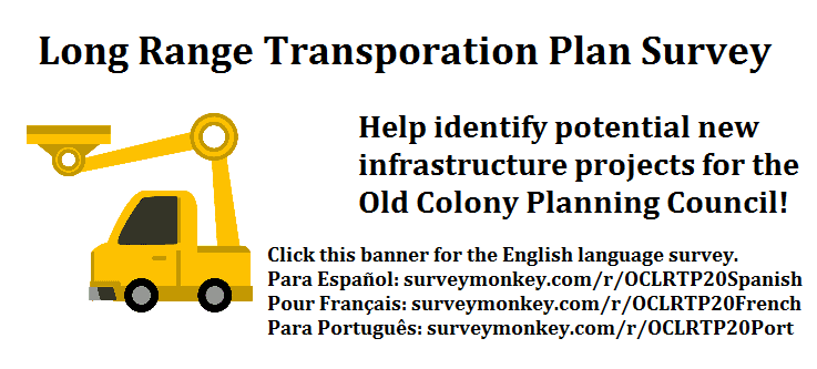 Click this banner for the English language Old Colony Planning Council Long Range Transportation Pla
